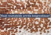 Maak reumatoïde artritis bespreekbaar!