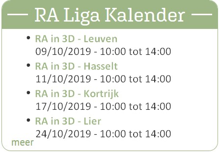 online agenda op www.raliga.be